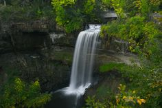 Minnesota: Minnehaha Falls       I've done a lot of things but these 50 spots to see in the continental USA would be on my bucket list.  Something to aim for.