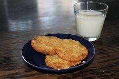 Valkosuklaa keksit