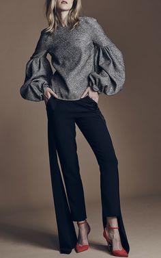 Hellessy Nasiri Straight Leg Side Panel Pants $820 $324