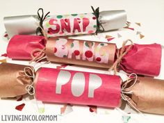 A Favorite Tradition: Christmas Crackers Craft by Enjoy Utah!