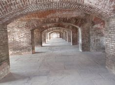Fort Jefferson arches