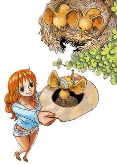 Nami <3 One Piece Figure, Nami One Piece, Manga Anime, Nami Swan, Otaku, Luffy X Nami, One Piece Chapter, Monkey D Luffy, Little Elephant