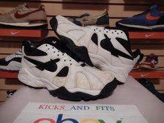 30ff369eca Vintage 1995 Nike Air Diamond Fury Low Griffey Jr Shoes 673097-102 sz 8 og