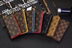 Louis Vuitton Brown Monogram Style Louis Wallet Case Apple Iphone 6 7 8 Plus S Louis Vuitton Hat, Louis Vuitton Sunglasses, Louis Vuitton Monogram, Monogram Styles, Replica Handbags, Apple Iphone 6, Purses, Wallet, Brown