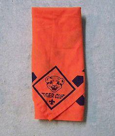 Tiger Cub Boy Scouts Neckerchief Scarve Boys Orange