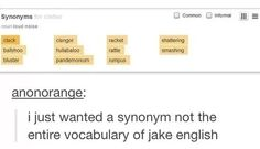 Whats wrong with my vocabulary?