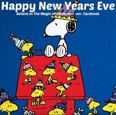 Snoopy & Woodstock Happy New Years Eve