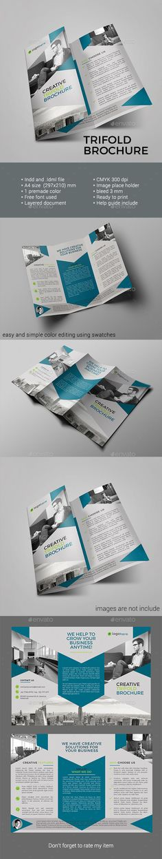 Square Ballet Workshop Brochure  Brochures Print Templates And