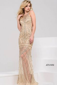 jovani 36554  #Jovani #SS2018 #Metallic