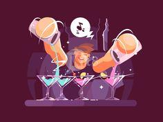 Young bartender by Anton Fritsler (kit8)