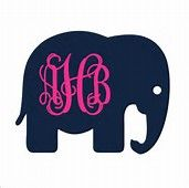 Elephant Monogram - Bing images