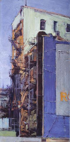 archatlas: The Art of Jill Soukup Jill. Urban Landscape, Abstract Landscape, Landscape Paintings, Landscapes, Urban Painting, Painting & Drawing, Urbane Kunst, Urban Architecture, City Art