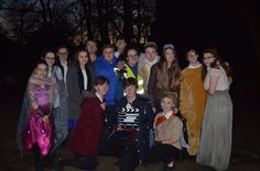 filming the 'dream' trailer in the Woods, FREEZING!