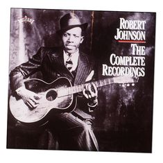 Johnson gained little notice in his life, but his songs — quoted by the Rolling Stones, Eric Clapton and Led Zeppelin — helped ignite rock 'n' roll. Jimmy Page, Johnny Shines, Cd Album Covers, Robert Johnson, Guitar Lessons For Beginners, Delta Blues, Queen Of Spades, Guitar Tips, Easy Guitar