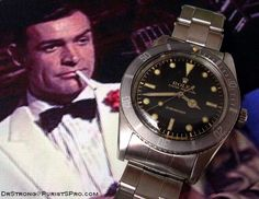 Review of the Rolex small crown James Bond Submariner - Rolex
