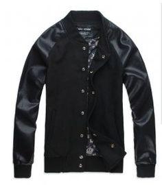 Man Homme 501b Varsity Jackets Black [Varsity Jackets 030] - $95.00 : Cheap Varsity Jackets, 50% Off Varsity Letterman Jackets online ($50-100) - Svpply
