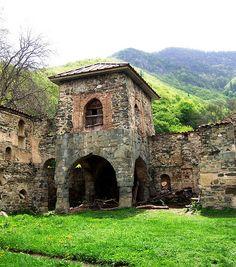 Defensive Tower in Mokmedia Monastery Yard, Shida Kartli, Central Georgia / David & Bonnie