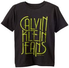 Calvin Klein Boys 8-20 Short Sleeve Lion Graphic Tee: Clothing