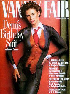 Demi Moore birthday suit