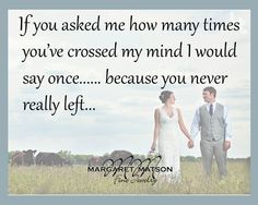 If you asked me....