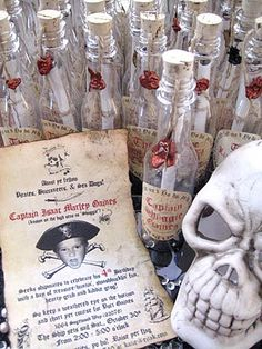 Pirate Party ideas and menu