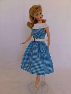 Barbie a Porter: Molde para Barbie - Réplica do Vestido Dancing Doll - 1965
