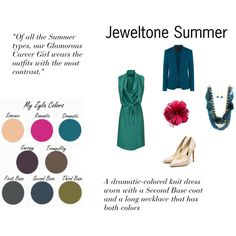 """Jeweltone Sumer"" by expressingyourtruth on Polyvore"
