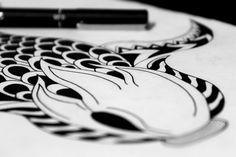Work in progress. Project Dutdot piece #14  - Gian Bautista