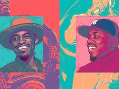Players Anthem, Southern Hip Hop, Andre 3000, Big Boi, 20th Anniversary, Caricatures, Savannah Chat, Rap, Legends