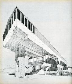 Studio Architetti Valle. Casabella 246 1960: 30