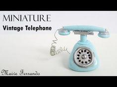 Miniature Vintage Telephone Tutorial