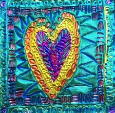 Check out student artwork posted to Artsonia from the MEXICAN TIN HEARTS project gallery at Cathedral School.