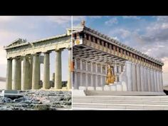 YouTube Parthenon: Reconstruction As It Was In Ancient Times