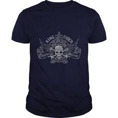 King rider funny cool motocross - Tshirt