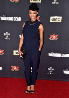 The Walking Dead Season 5 Premiere - Sonequa Martin-Green