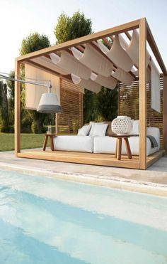 Box - Terrasse - Bois - Piscine - Idée - Magnifique - Décoration - Extérieur