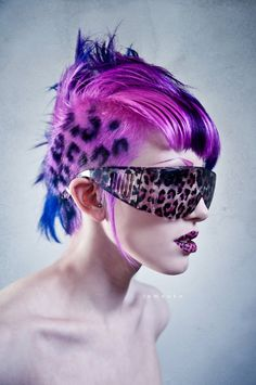 crazy hair colors | Crazy hair colors (I just love the color!!!) please ... | Hair ideas