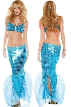 another (too revealing?) mermaid costume