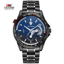 Calendar Clock Men Military Watch Sapphire Crystal Dress Sports Watches hours Fashion Outdoor Wristwatches Rotator Discs