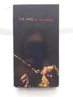 K.D. Lang - Live in Sydney (VHS, 1998)