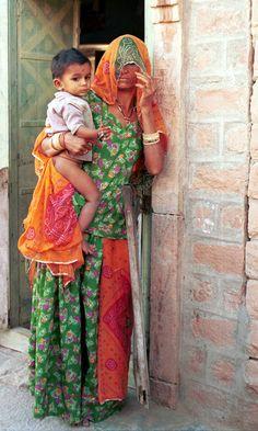 Bishnoi Village Woman , India