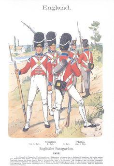 band IV #23.- England. Fuß-Garden. 1815.