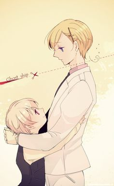 Hetalia (ヘタリア) - Norway & Iceland << WHAT HAVE YOU DONE?! It's terrible T.T