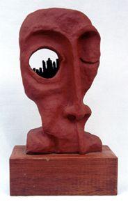 Arnaldo Gomes Junior - escultura em cerâmica