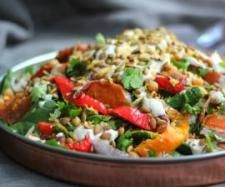 Recipe Chickpea and Kumara Salad by Thermomix in Australia - Recipe of category Main dishes - vegetarian Vegetarian Recipes, Cooking Recipes, Healthy Recipes, Savoury Recipes, Chickpea Salad, Nightshade Free Recipes, Shred Diet, Salad With Sweet Potato, Recipes