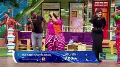 The Kapil Sharma Show Bravo dances on Naino Me Sapna Sapno Me Sajna Song...