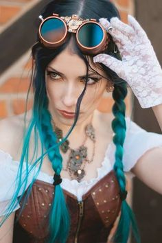 "steampunksteampunk: "" Model, make-up, styl: Katarzyna 'Daedra' Photographer: Joanna Mucha photography """