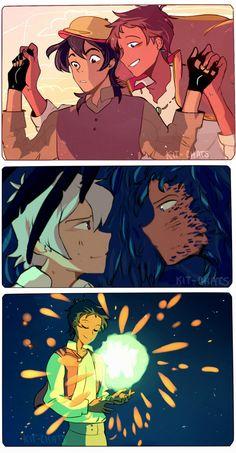 Keith / Lance *crossover Hauru no ugoku shiro*