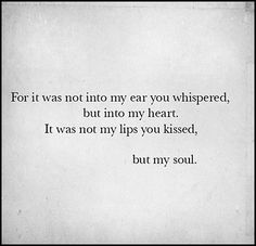 Poetry for the soul :)