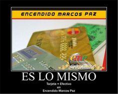 Todas las tarjetas y los medios de pago, igual que si fuera efectivo. Encendido Marcos Paz  No vendemos repuestos... Brindamos respuestas.
